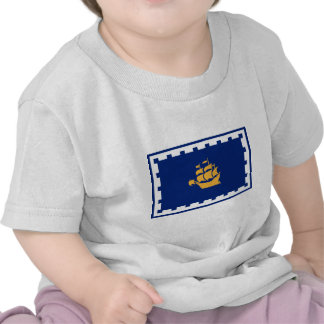 Bandera de la ciudad de Quebec Camisetas