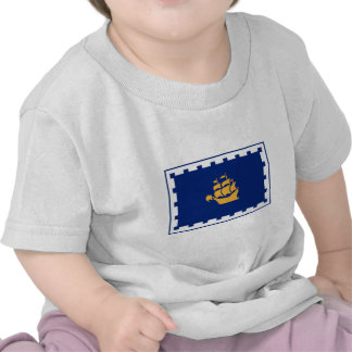 Bandera de la ciudad de Quebec Camiseta