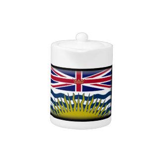 Bandera de la Columbia Británica (Canadá)