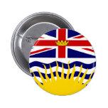 Bandera de la Columbia Británica de Canadá Pin