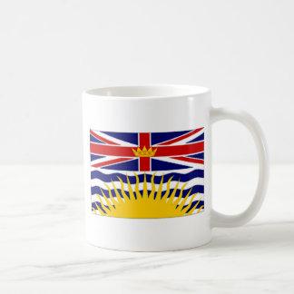 Bandera de la Columbia Británica de Canadá Tazas