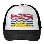 Bandera de la Columbia Británica Gorras De Camionero