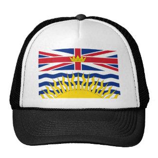 Bandera de la Columbia Británica Gorros Bordados