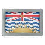 Bandera de la Columbia Británica Hebilla Cinturon