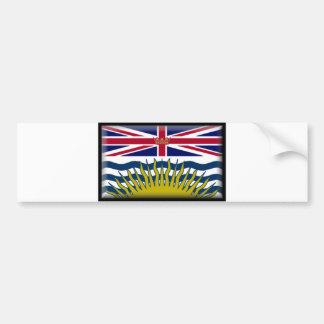 Bandera de la Columbia Británica Pegatina Para Auto