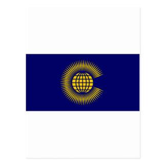 Bandera de la Commonwealth Tarjeta Postal