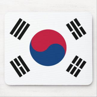 Bandera de la Corea del Sur Alfombrilla De Ratones