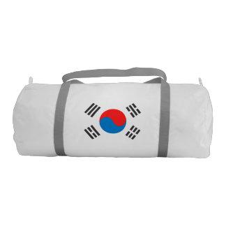 Bandera de la Corea del Sur Bolsa De Deporte