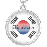 Bandera de la Corea del Sur + Collar conocido