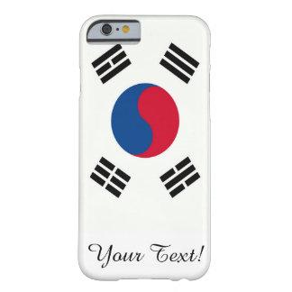 Bandera de la Corea del Sur Funda De iPhone 6 Barely There