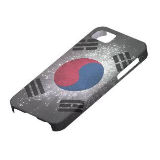 Bandera de la Corea del Sur iPhone 5 Case-Mate Carcasas