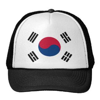 Bandera de la Corea del Sur Gorras