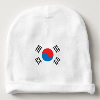 Bandera de la Corea del Sur Gorrito Para Bebe