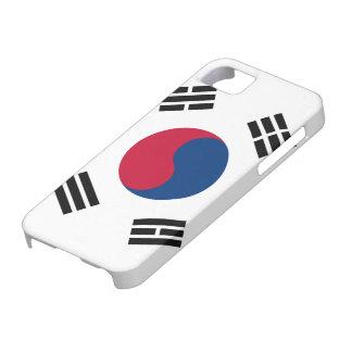 Bandera de la Corea del Sur iPhone 5 Protectores