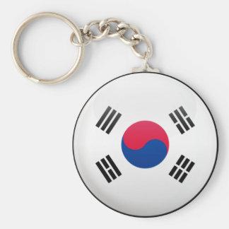 Bandera de la Corea del Sur Llaveros