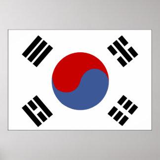 Bandera de la Corea del Sur Impresiones