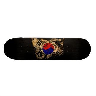 """Bandera de la Corea del Sur Patineta 7 1/4"""""""