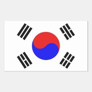Bandera de la Corea del Sur Rectangular Altavoces