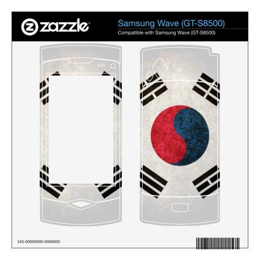 Bandera de la Corea del Sur; Sudcoreano, Samsung Wave Skin