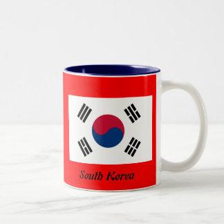 Bandera de la Corea del Sur Tazas