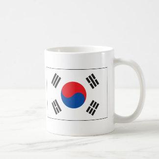 Bandera de la Corea del Sur Taza