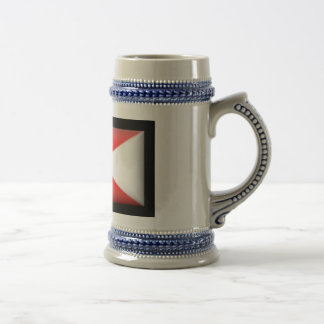 Bandera de la Dinamarca-Fractura Taza De Café