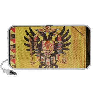 Bandera de la dinastía imperial de Habsburgo, c.17 Laptop Altavoz