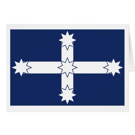 Bandera de la estacada de Eureka Tarjeta