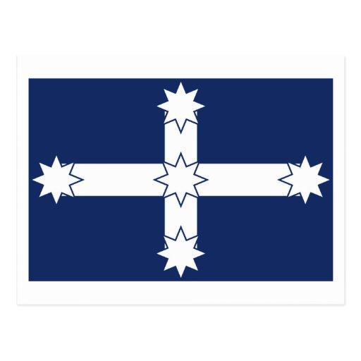 Bandera de la estacada de Eureka Tarjeta Postal