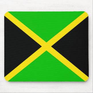 Bandera de la estera del ratón de Jamaica Alfombrilla De Ratón