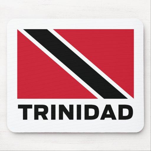 Bandera de la estera del ratón de Trinidad Tapete De Raton