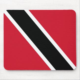 Bandera de la estera del ratón de Trinidad Alfombrilla De Ratón