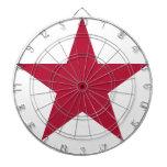Bandera de la estrella de California Tablero De Dardos
