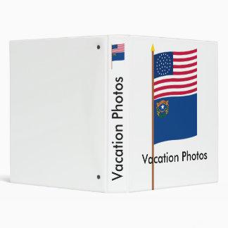 Bandera de la estrella de los E E U U 36 en polo