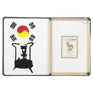 Bandera de la estufa de la presión de la Corea del