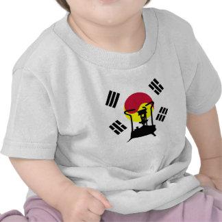 Bandera de la estufa de la presión de la Corea del Camiseta