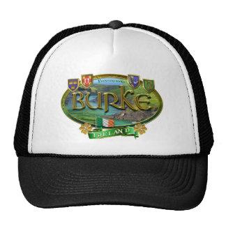 Bandera de la familia de Burke Gorro