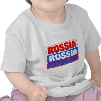 BANDERA de la Federación Rusa Camisetas