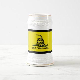 Bandera de la fiesta del té tazas