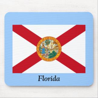 Bandera de la Florida Alfombrillas De Ratón