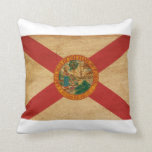 Bandera de la Florida Almohada