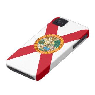 Bandera de la Florida iPhone 4 Case-Mate Cárcasas