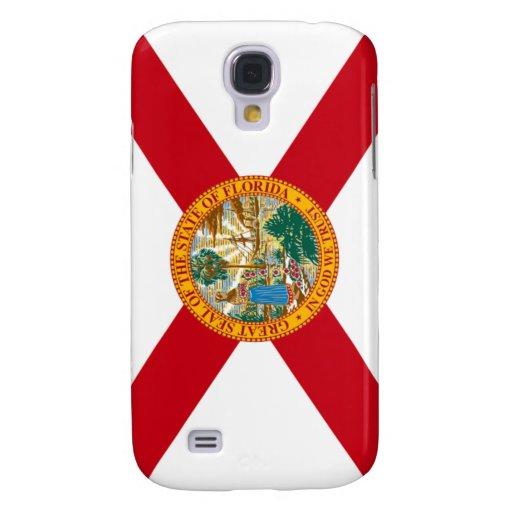 Bandera de la Florida Funda Para Galaxy S4