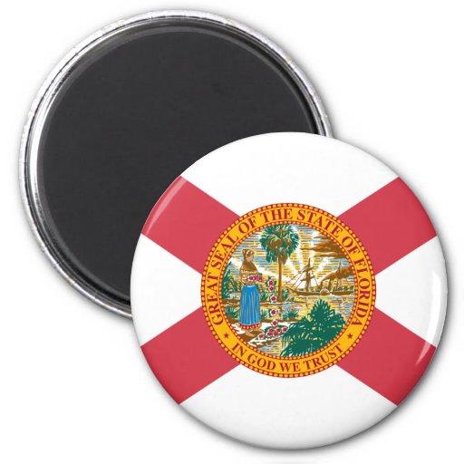 Bandera de la Florida Imán Para Frigorifico