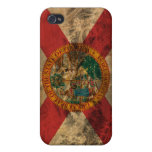 Bandera de la Florida iPhone 4/4S Carcasa