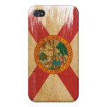 Bandera de la Florida iPhone 4 Carcasa