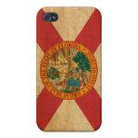 Bandera de la Florida iPhone 4 Carcasas