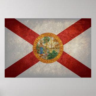 Bandera de la Florida Poster