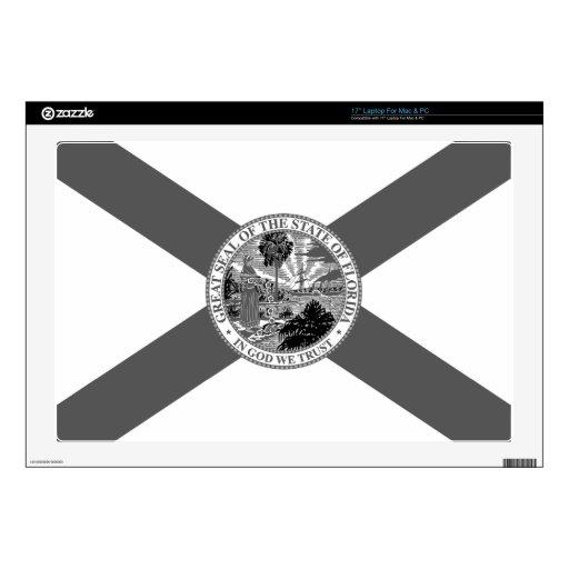 Bandera de la Florida Posterized Portátil Skin