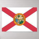 Bandera de la Florida Posters